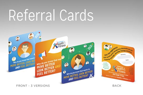 WHF 16 Referral Cards